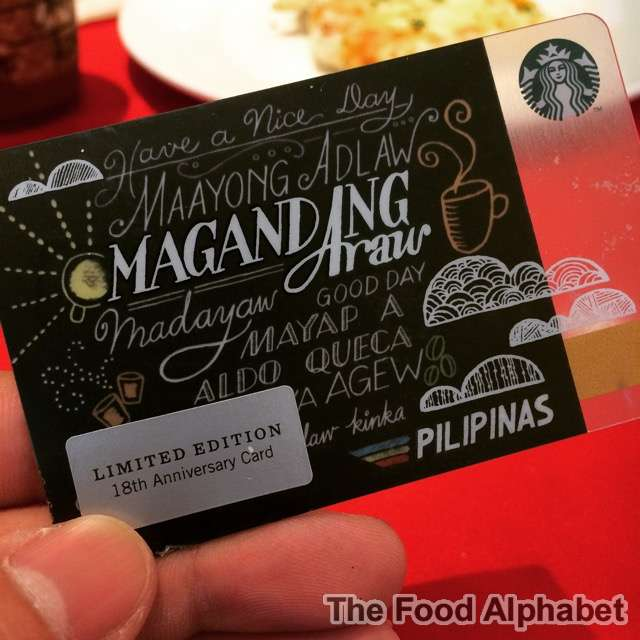 the food alphabet and more new starbucks cards new