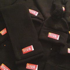 So Im employed by this GREAT company Riva Solutions @riva_solutions and I designed every aspect of these super high quality scarves and knit hats for the company! Shoutout to @naveenk22 for being such an Amazing owner!! I LOVE product development!! :grin: