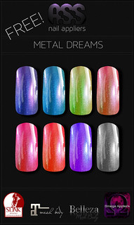 A:S:S - Metal dreams nail appliers