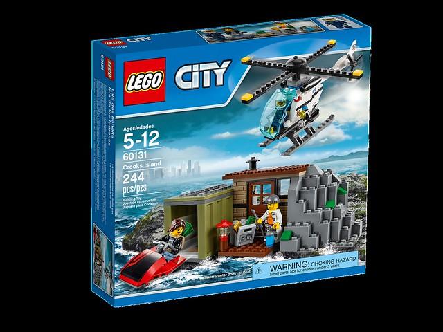 LEGO City 60131 - Crooks Island