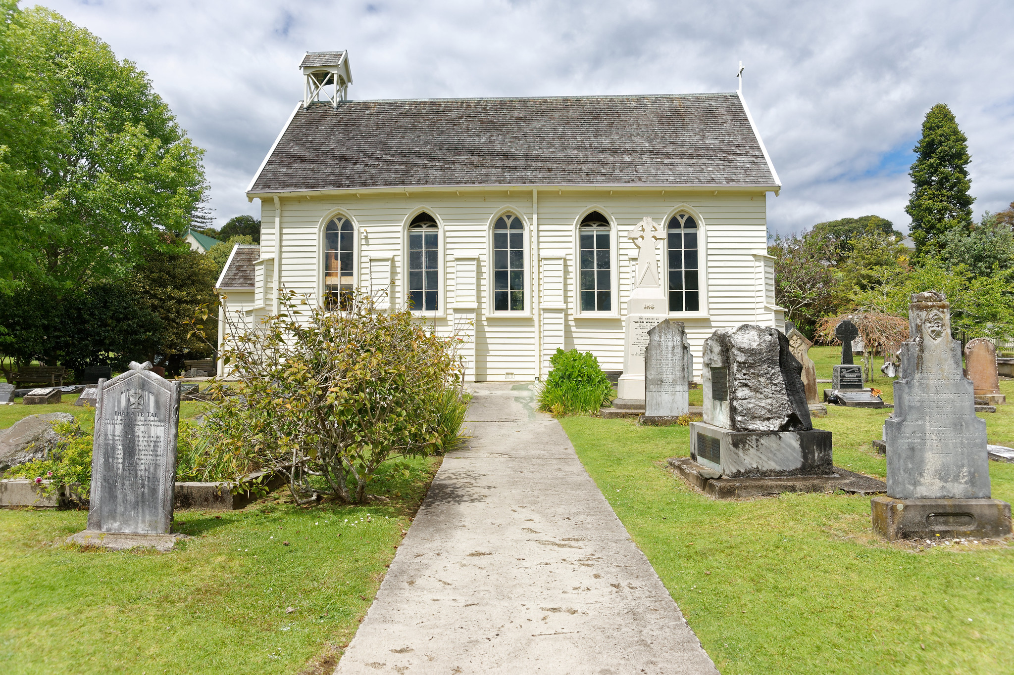 Christ Church - Russell, New Zealand