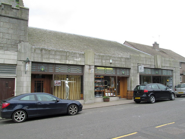Art Deco Shop Fronts, Stonehaven