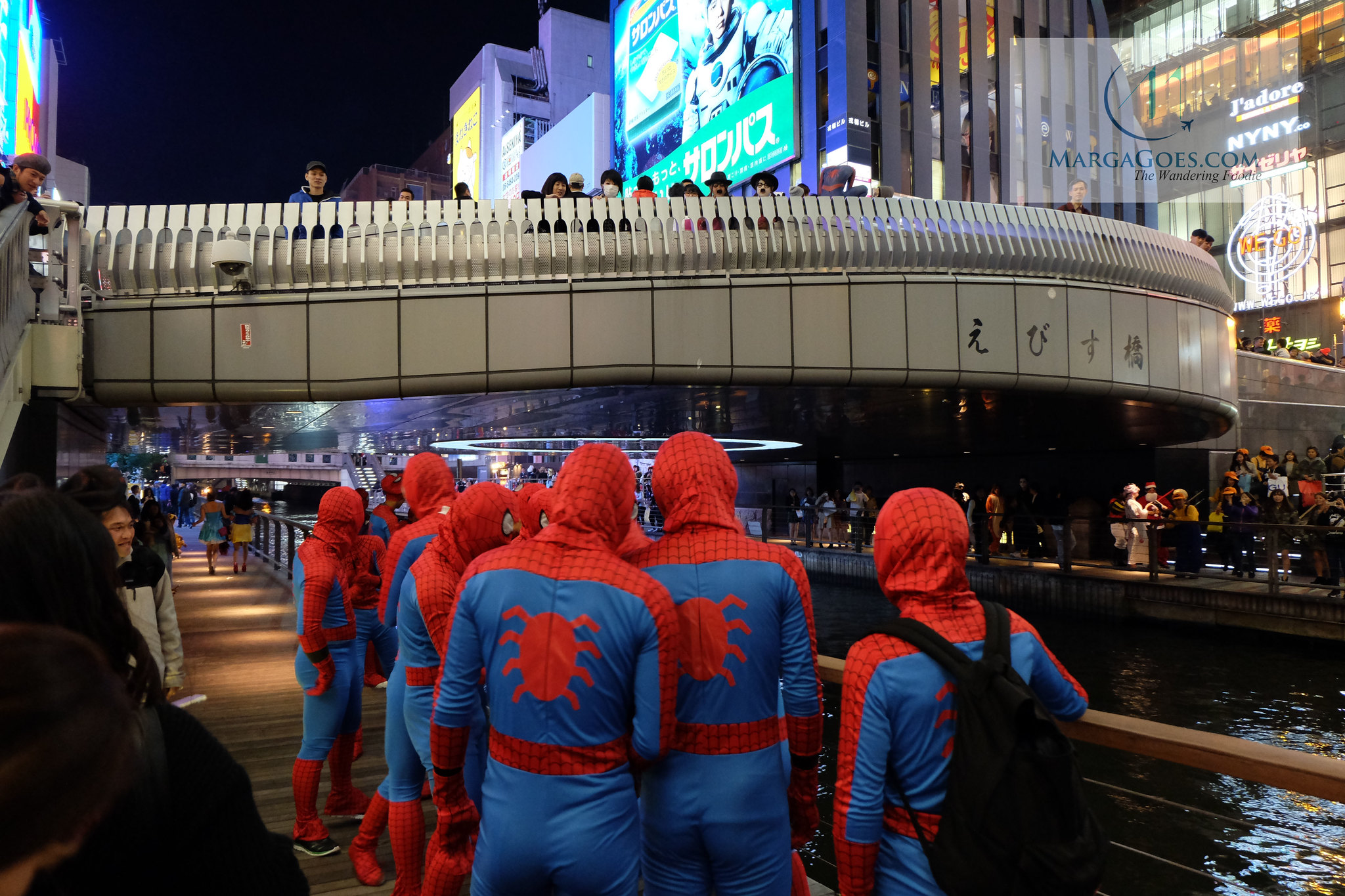 spiderman dotonburi