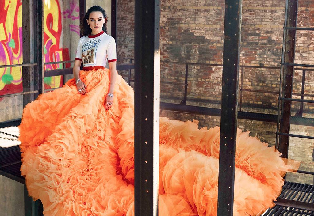 Дэйзи Ридли — Фотосессия для «Elle» 2015 – 1