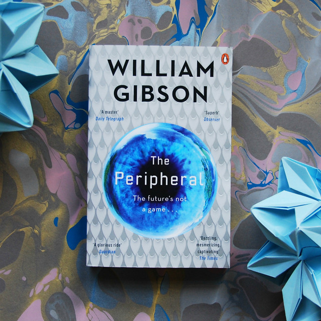 book blogs vivatramp the peripheral william gibson book haul