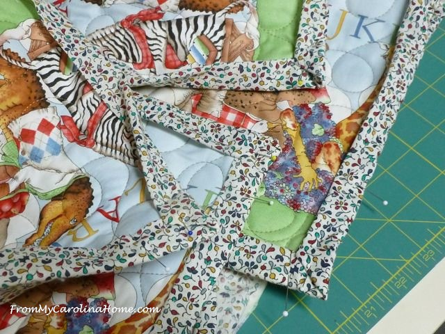 Baby quilt 10