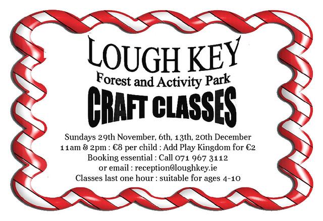 Craft Classes Lough Key