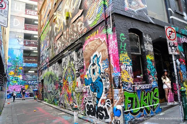 Street Arts at Hosier Lane Melbourne