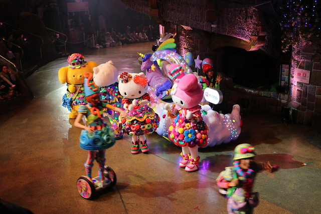 サンリオピューロランド Miracle Gift Parade 新パレード オープニングセレモニー