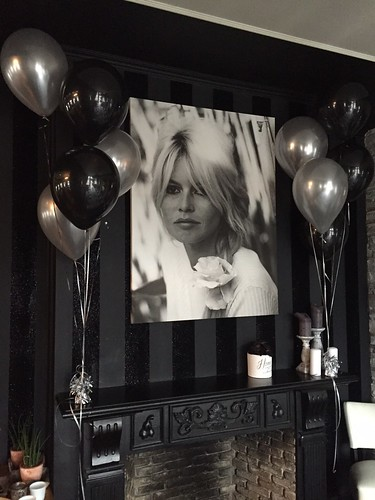 Tafeldecoratie 5ballonnen Bardot Ridderkerk