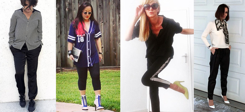 Fashion bloggers in sportswear #iwillwearwhatilike
