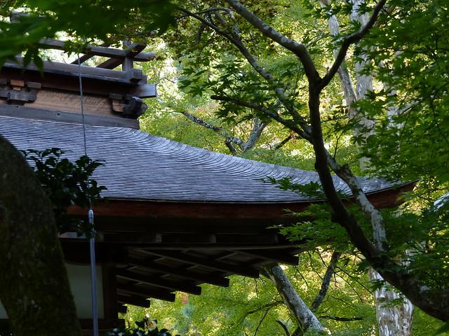 Ginkakuji roof details