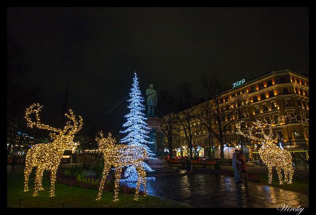 Laponia viaje Madrid Helsinki - Parque de la Esplanada