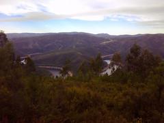 View over the rio Zezere