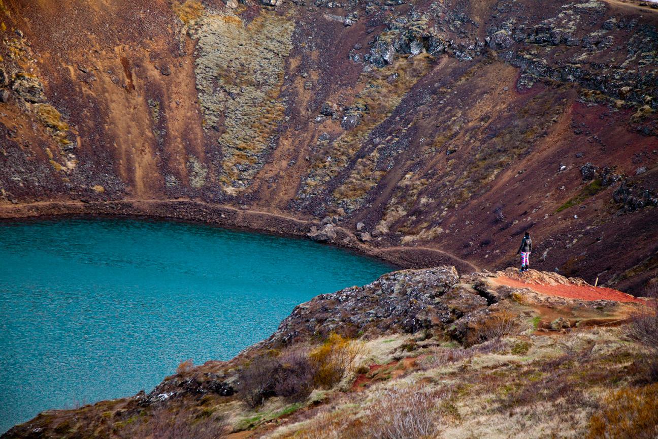 islande crater