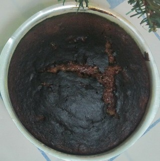 Easy alchohol free christmas cake 10 - Baked