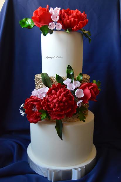 Wedding Cake by Georgia Cakes