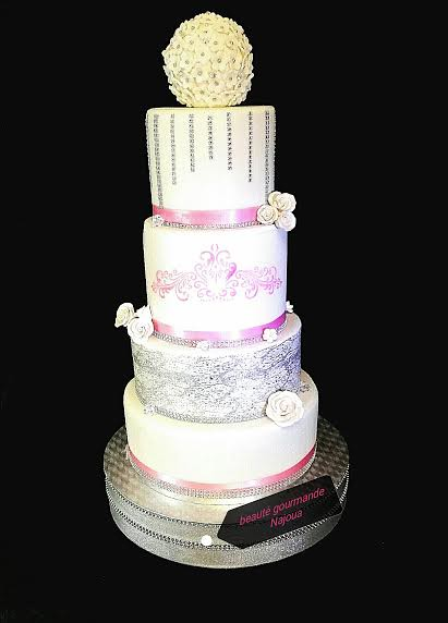 Wedding Cake by Beauté Gourmande Najoua