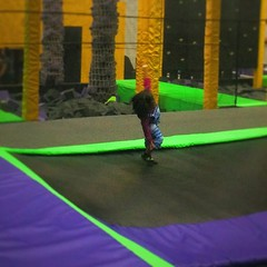 trampolining--equipment and supplies, play, sports, green, trampoline,