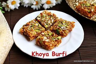 khoya- burfi