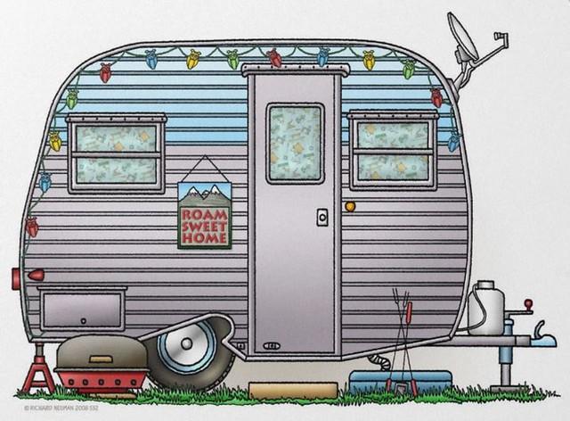 Whimsical Serro Scotty Travel Trailer