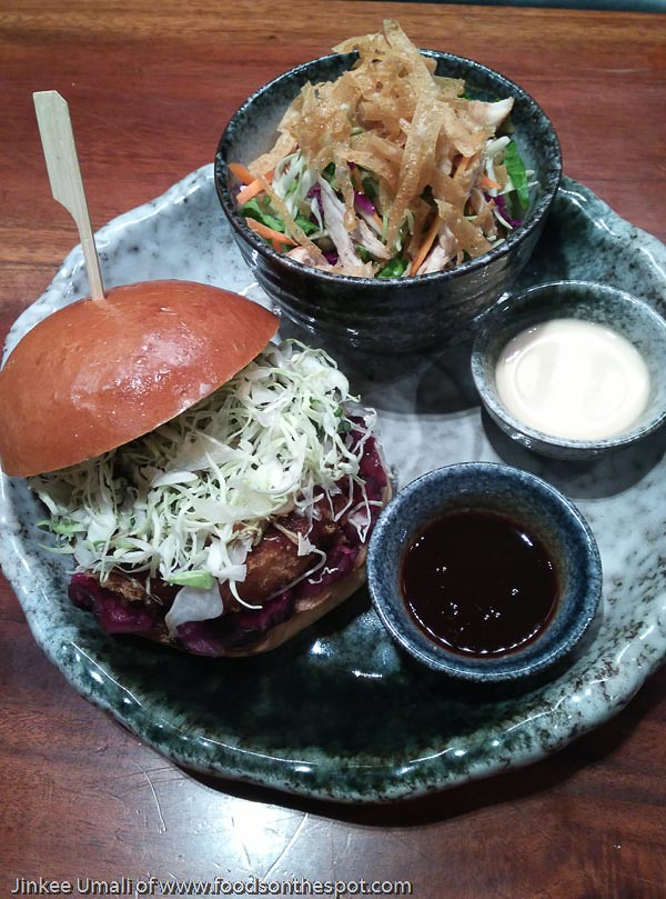 Get Your Hands Dirty w/ Yabu Burger