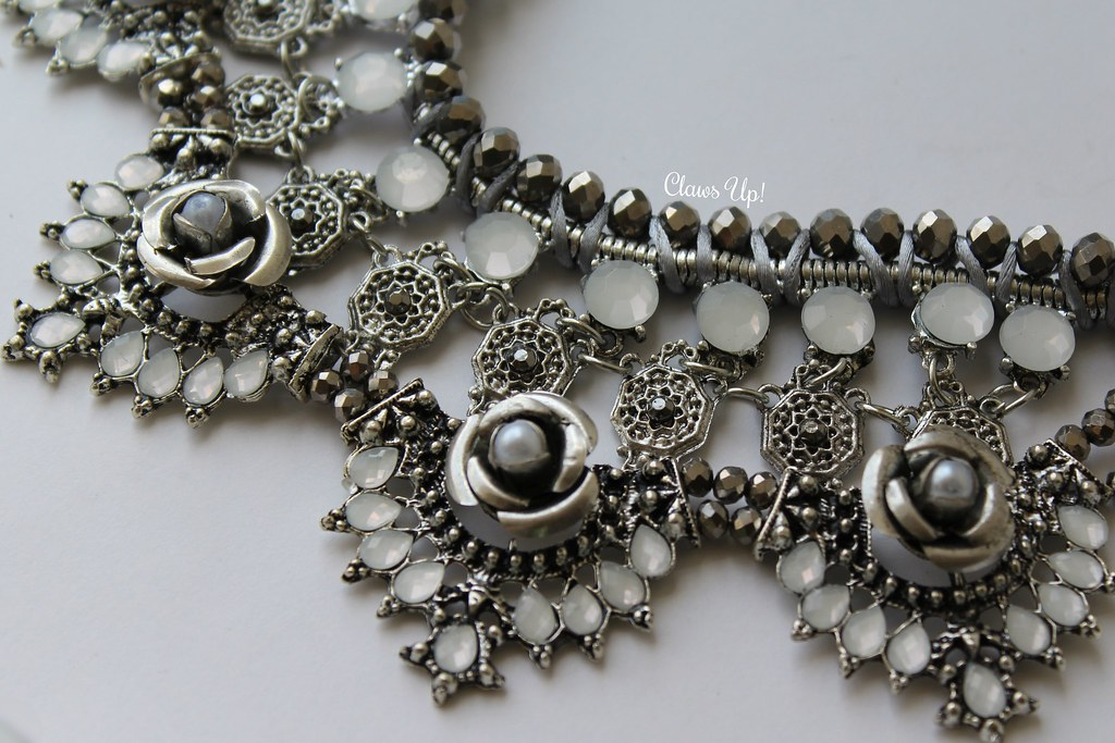 Mirina Collections Audrina Statement Necklace. Mirina Collections coupon code 20% off COLMAN20