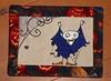 UT Vampire mug rug