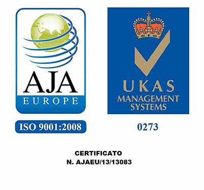 aja UK_ISO 9001_2008