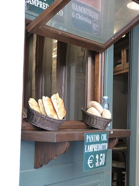 panino con lampredotto