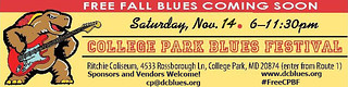 College Park Blues Fest 2015 coming soon
