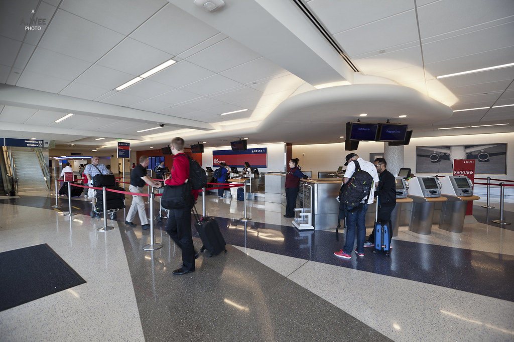 Delta Check-in Counters