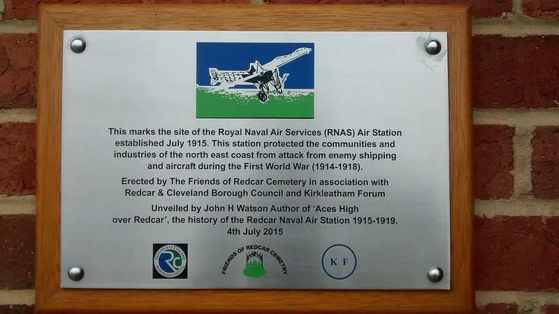 Royal Naval Air Station, Redcar