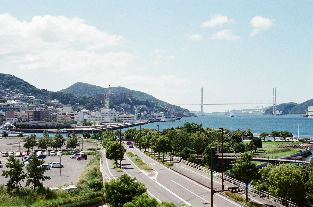 長崎縣美術館 長崎 Nagasaki 2015/09/08 前面是女神橋。  Nikon FM2 / 50mm Kodak UltraMax ISO400 Photo by Toomore