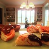 Breakfast buffet from Henri's #breakfastporn #danish #saturdaysdownsouth