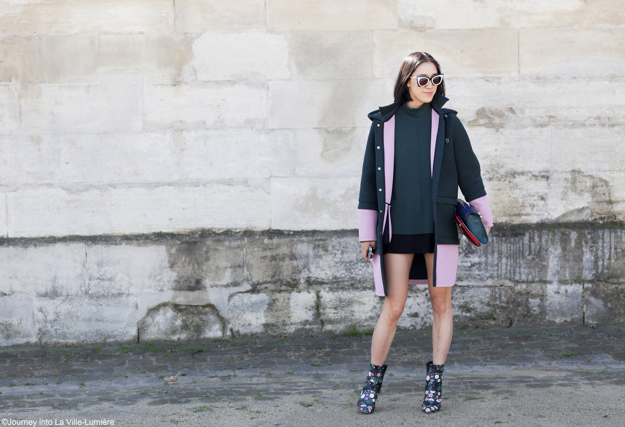 Street style, Paris Fashion Week, SS16Street style, Paris Fashion Week, SS16