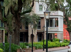 Classic southern buildings Palmetto Bluffs SC