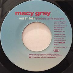 MACY GRAY:SWEET BABY(LABEL SIDE-B)