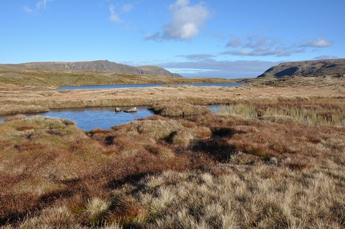 Sgor Gaoith from Loch na Cnapan