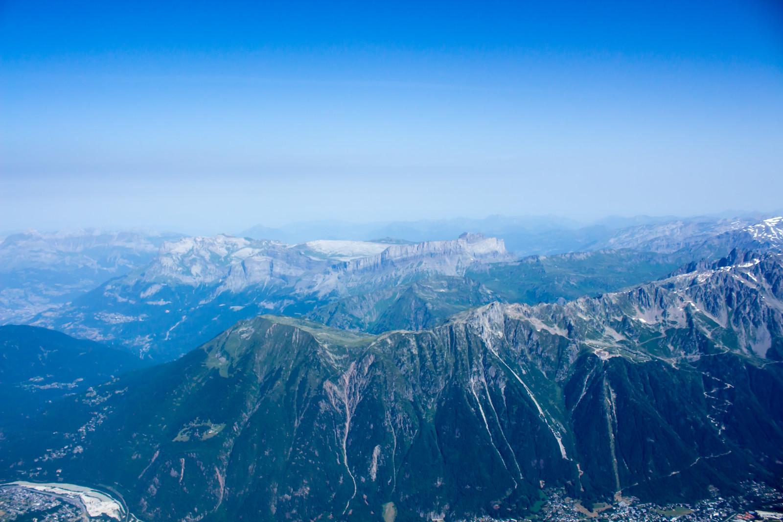 Шамони Мон-Блан - Постепенно перед нами открывается панорама Альп