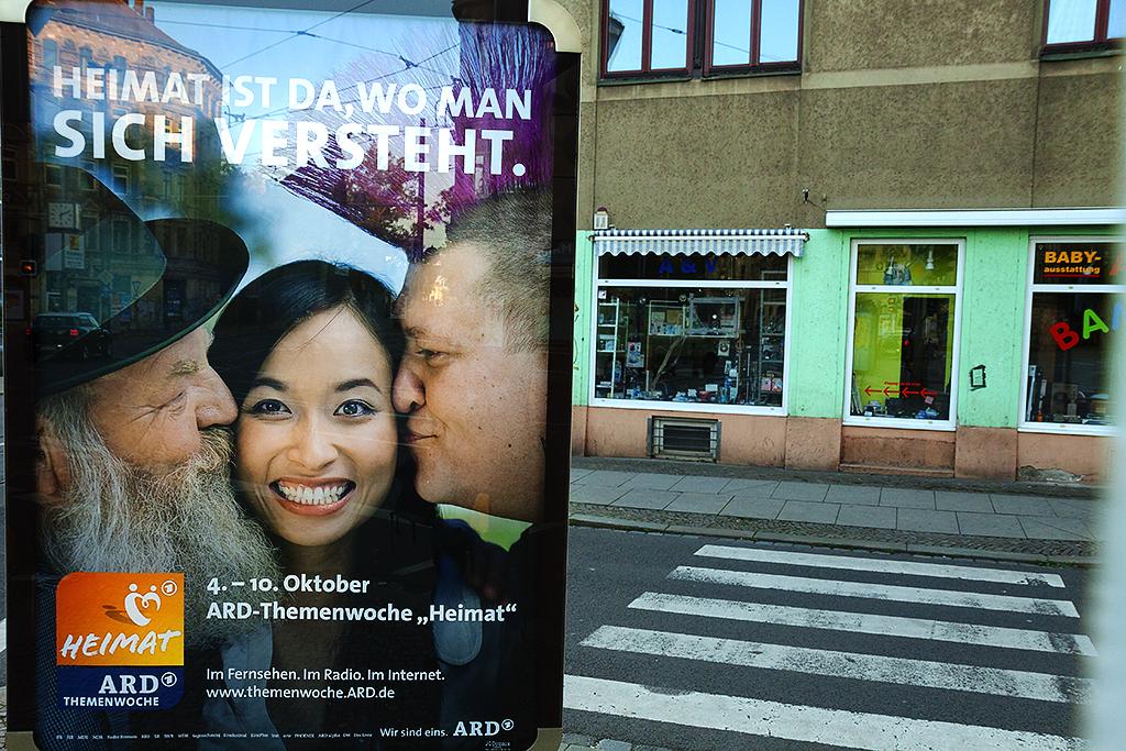 HEIMAT IST DA, WO MAN SICH VERSTEHT--Leipzig