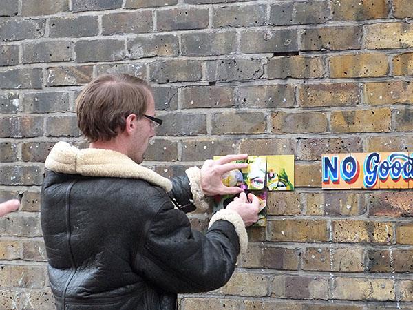 street art in progresss