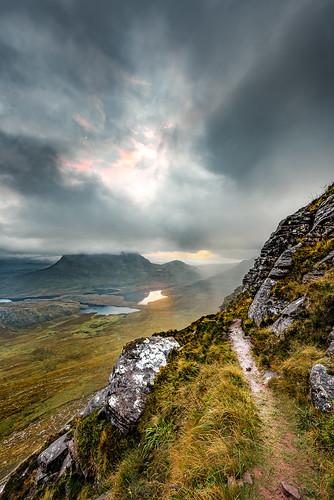 sunrise scotland pathway stacpollaidh assynt colmor godsun nikond810 nikkor1424f28