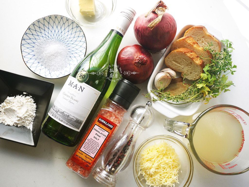 孤身廚房-小小偷吃步的法式洋蔥濃湯2
