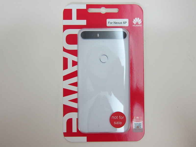 Huawei Free Nexus 6P Jelly Case - Packaging Front