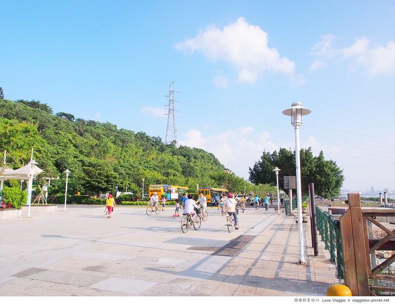 【台北 Taipei】關渡八里單車路線 假日午後淡水河的愜意時光 @薇樂莉 Love Viaggio | 旅行.生活.攝影