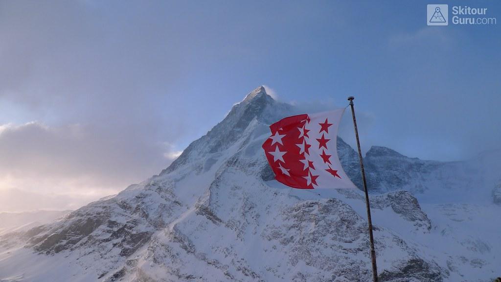 Matterhorn from Schönbielhütte, Zermatt, Tour du Ciel, Haute Route Imperial, Wallis, Switzerland