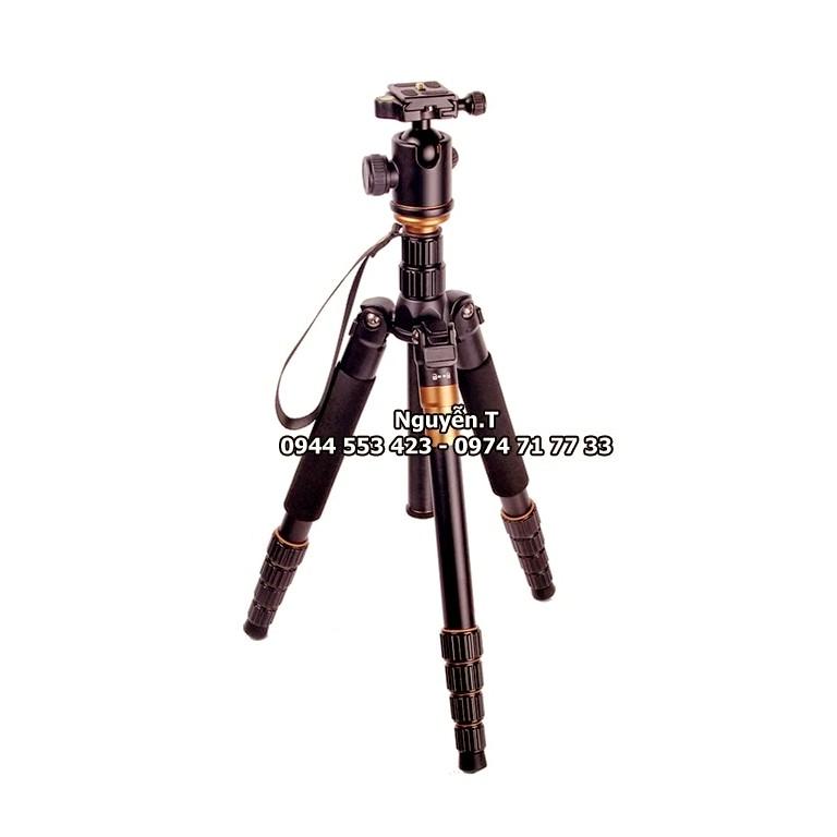 Chân máy ảnh tripod gấp gọn QZ-660 tích hợp MONOPOD