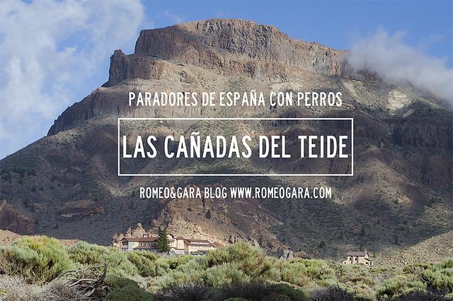 Parador de las Cañadas del Teide con perro