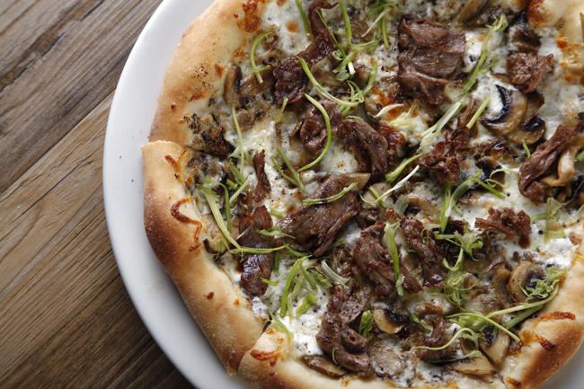 Steak Mushroom + Truffle Pizza